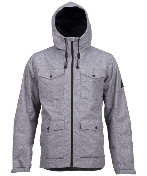 BURTON MB Danny Jacket Dark Ash Heather 2017FW