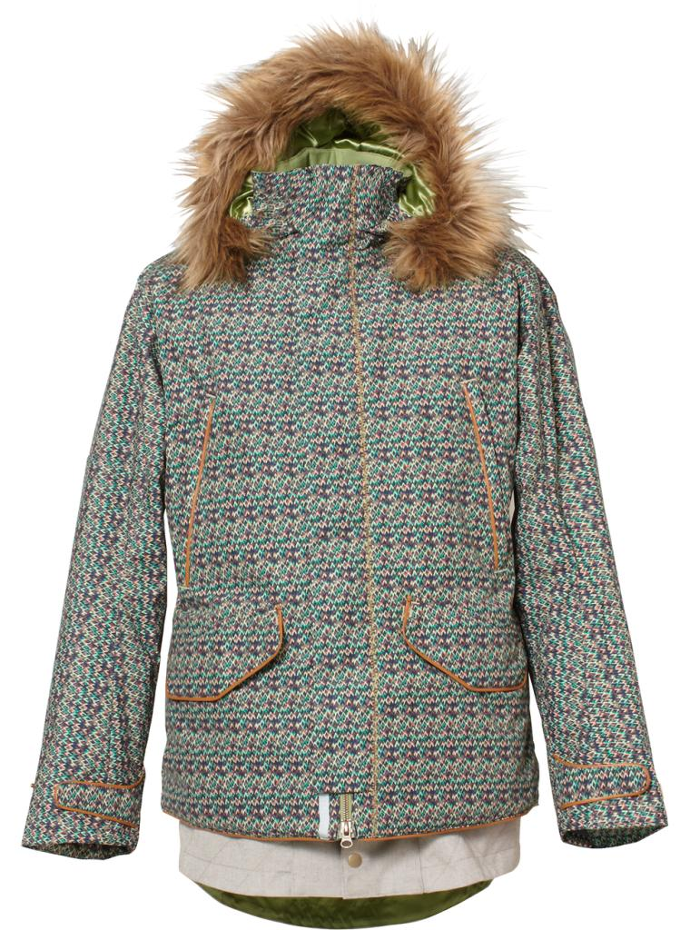 BURTON Women's Zenana Jacket 2017W SORING MOUNTAIN