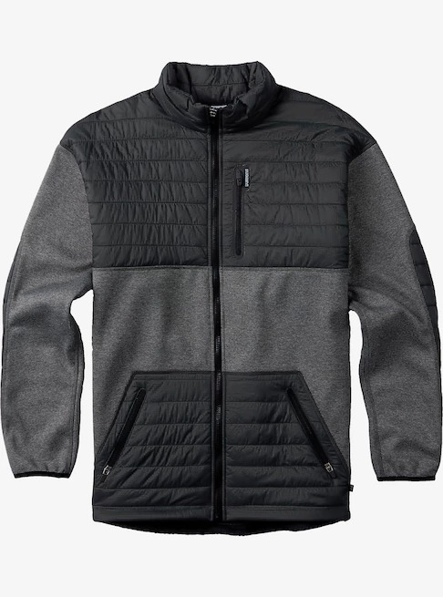 Burton Backside Fleece Jacket 2017FW True Black