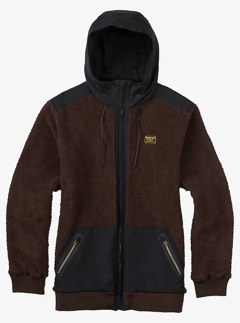 Burton Tribute Full-Zip Fleece  Mocha 2017FW【USサイズ】