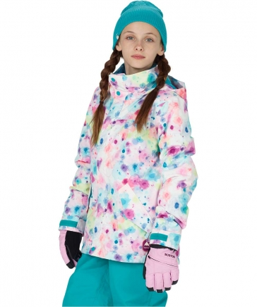 BURTON Girls' Elodie Jacket 2018FW Drip Dye