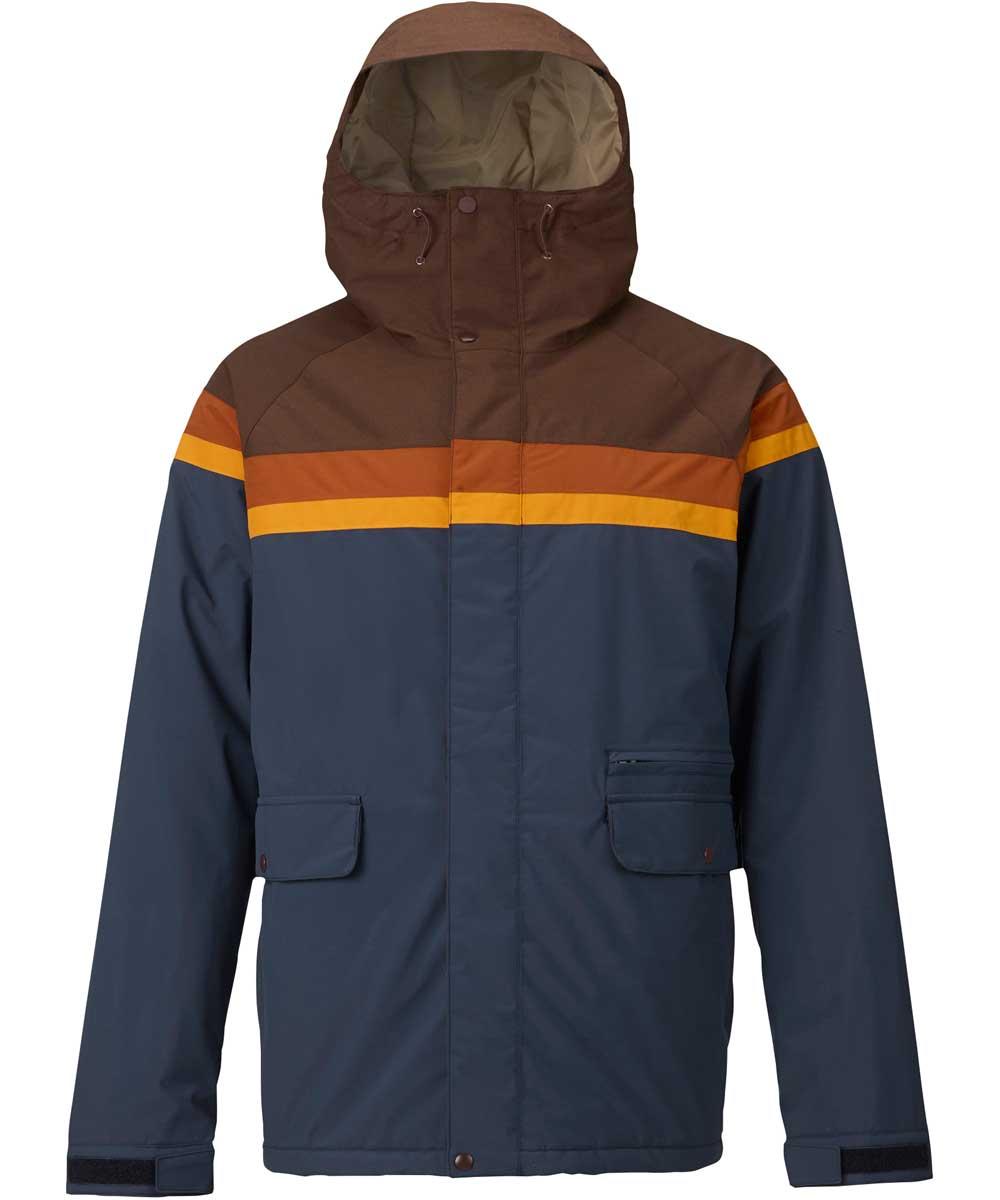 BURTON Docket Jacket  Chestnut Cord / Clay / Golden Oak / Mood Indigo
