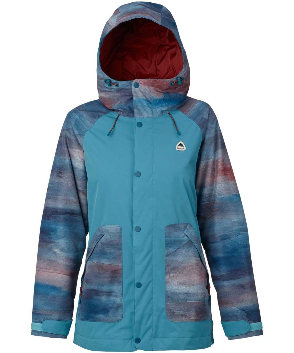 BURTON Women's Eastfall Jacket  Jaded Sedona / Larkspur 2018FW