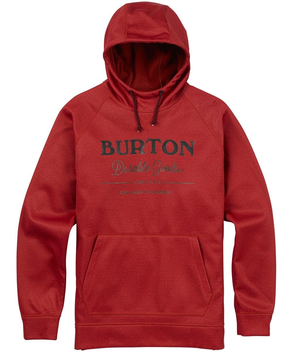 BURTON MB Crown Bonded Pullover 【USサイズ】2018FW Bitters Heather