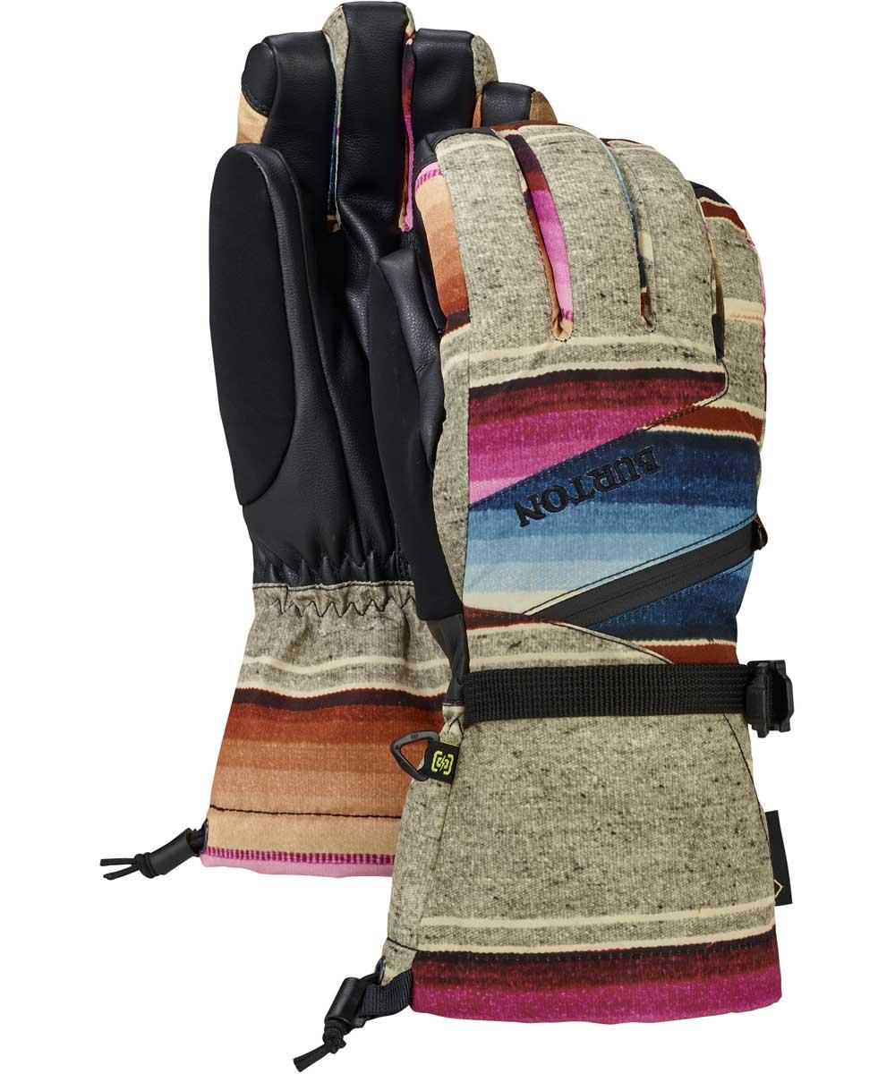 【送料0円】 BURTON Women's Gore-Tex Glove Women's Mija BURTON Stripe Glove 2018FW, プラスイン:809455a7 --- paulogalvao.com