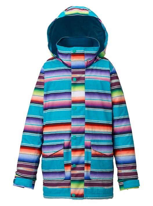 BURTON Parka Girls' STRIPE Elstar Parka Jacket 2018FWMIJITA Jacket STRIPE, Jewel & Gold KAWAI:e55581f0 --- debyn.com