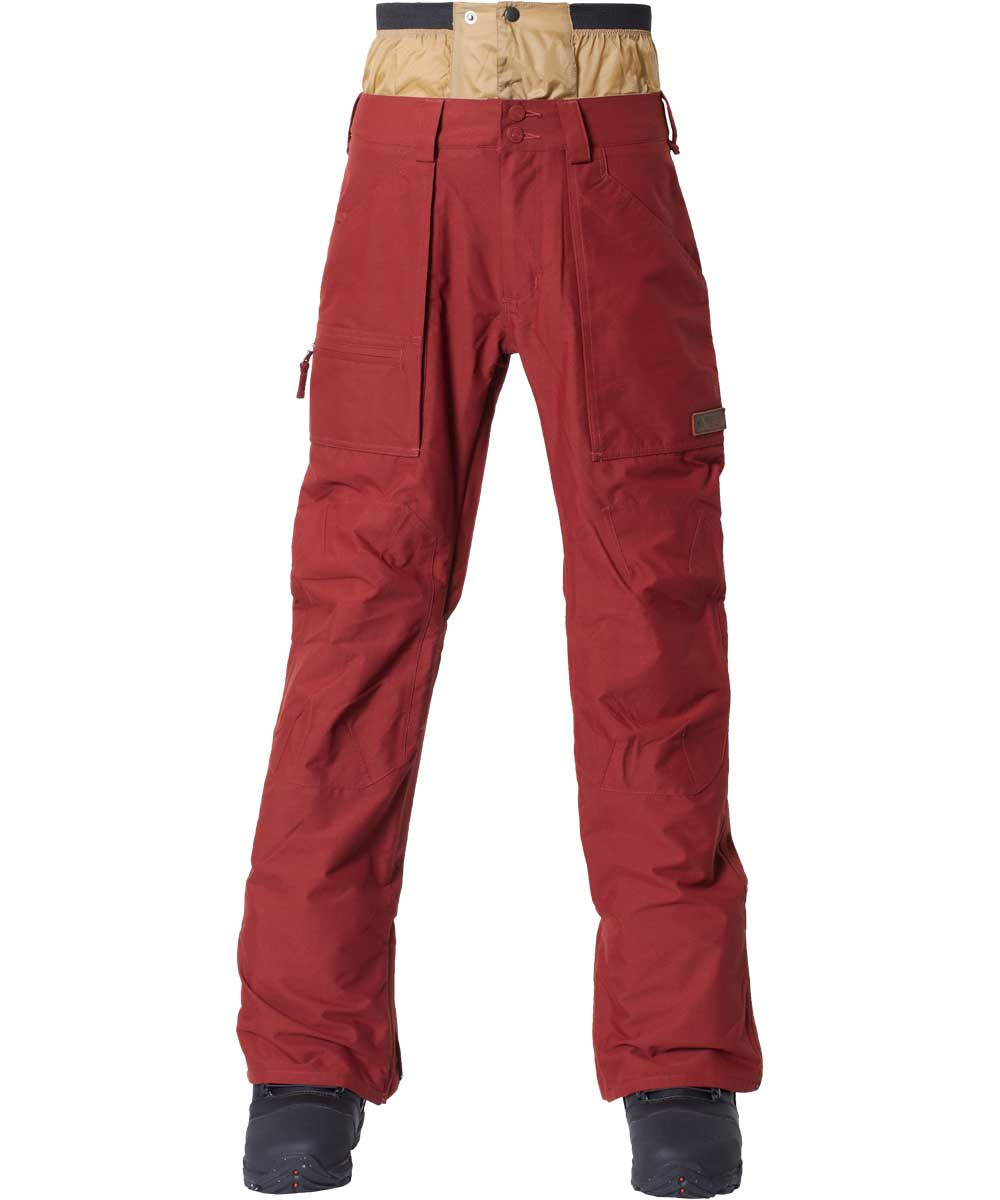 BURTON MZ Southside Pant Mid Fit 2018FW Fired Brick