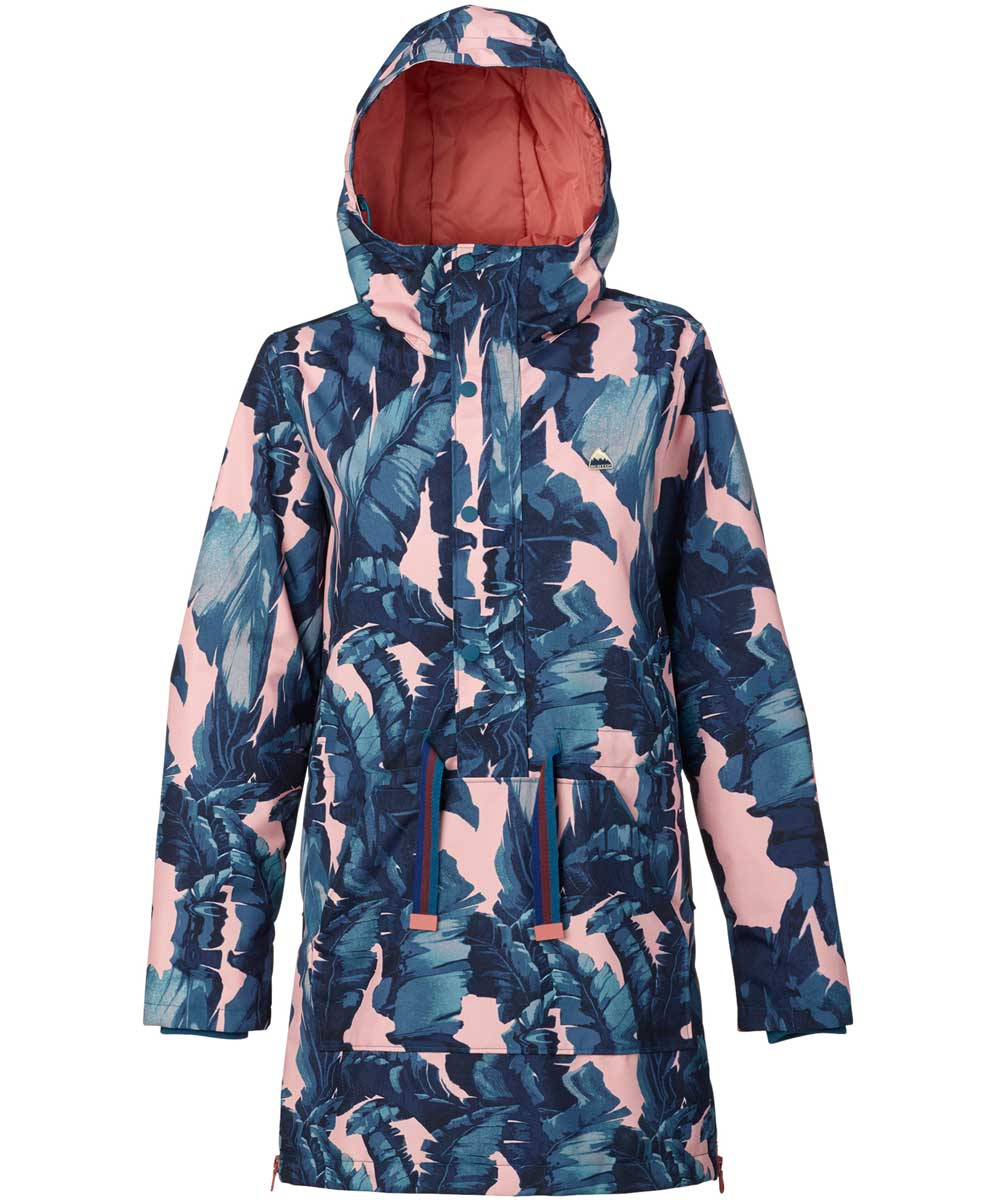 BURTON Women's Chuteout Anorak Jacket  Zolatta 2018FW