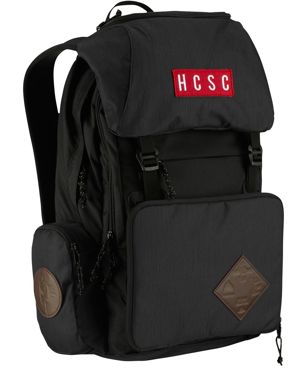 BURTON Hcsc Shred Scout Pack [26L] 2018FW Scouting Charcoal【正規品】