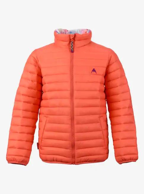 Kids' Burton Reversible Flex Puffy Jacket 2018FW Georgia Peach / Drip Dye