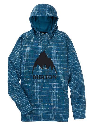 BURTON Men's Pullover Burton Crown Bonded SAPPHIRE Pullover Hoodie BLUE Bonded SAPPHIRE RIP2019SSモデル【正規品】, アスポ:d7fc412e --- sunward.msk.ru