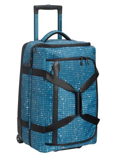 BURTON Wheelie Cargo [65L] 2019SS Blue Sapphire Ripstop Texture Print