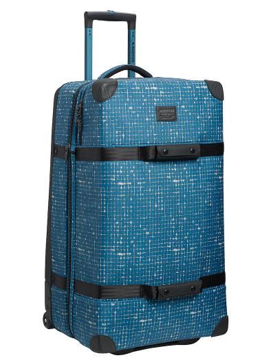 BURTON Wheelie Sub [116L] 2019SS Blue Sapphire Ripstop Texture Print
