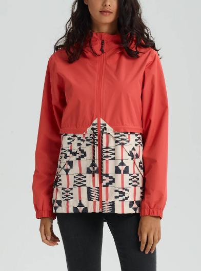 BURTON Women's Burton Narraway Rain Jacket 2019SSBurnt Sienna / Burnt Sienna Brickstripe