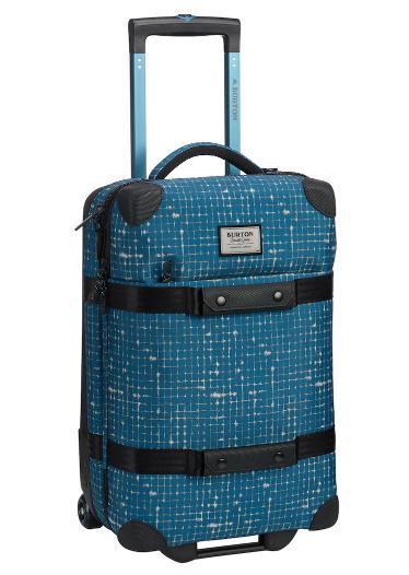 Burton Wheelie Flight Deck 38L Travel Bag2019SS Blue Sapphire Ripstop Texture Print