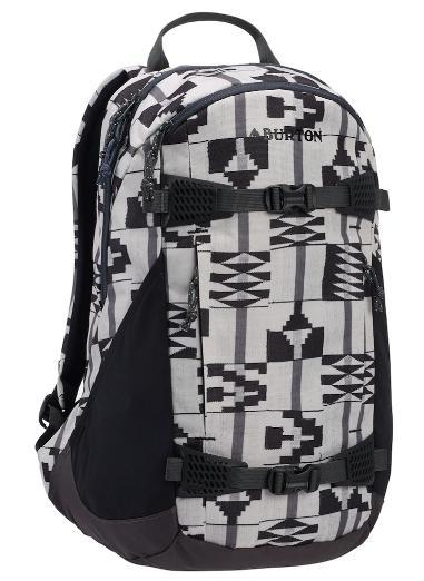 Women's Burton Day Hiker 25L Backpack2019SS Pelican Brickstripe Print