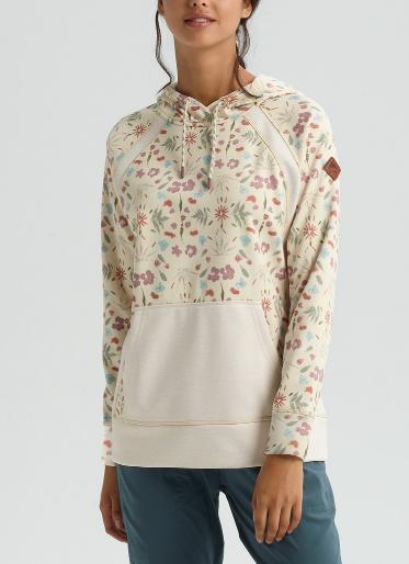 BURTON Women's Burton Crown Bonded Bonded Fresh Pullover Hoodie Burton USサイズ 2019SS Creme Fresh Pressed, 【在庫処分大特価!!】:dcc457f1 --- sunward.msk.ru