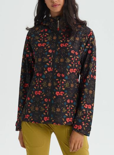 BURTON Women's Burton GORE‑TEX 2L Packrite Rain JacketBlack Fresh Pressed 2019SS