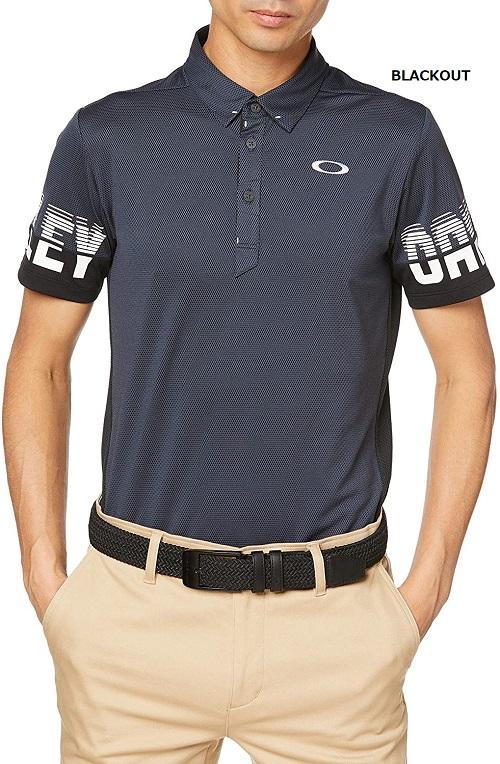 OAKLEY(オークリー)2020SS ゴルフシャツ SKULL SPLIT SLEEVE SHIRTS