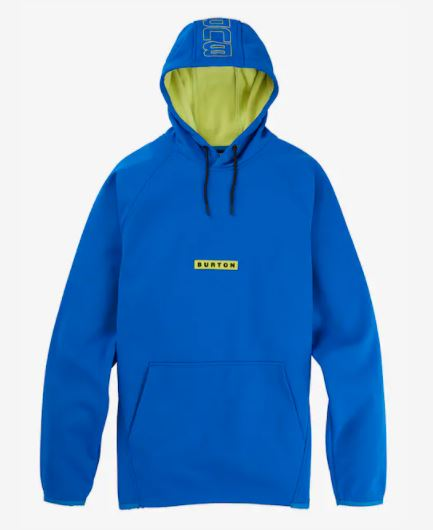 Men's Crown 21FW Pullover FleeceLapis Blue Weatherproof Burton