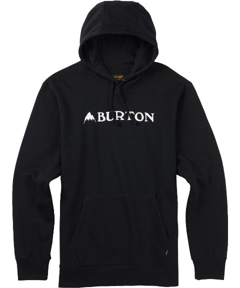 BURTON MB Mountain Horizontal Pullover 2017SS True Black【正規品】