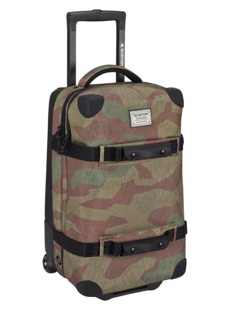 BURTON Wheelie Flight Deck [40L] Splinter Camo  Print 2017SS【正規品】【あす楽対応_関東】【送料無料】【20%OFF】