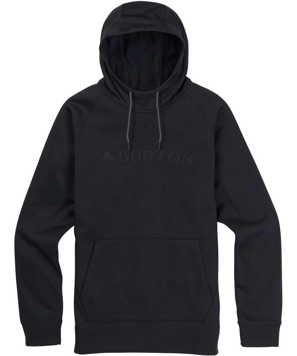 BURTON MB Crown Bonded Pullover Hoodie USサイズ 2018SS True Black