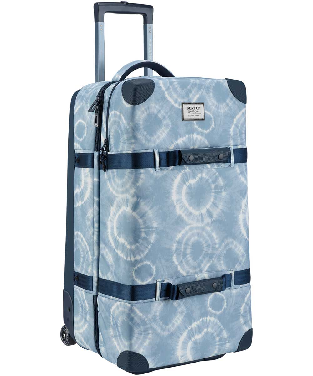BURTON Wheelie Double Deck [86L]2018SS Grateful Shibori Ballistic