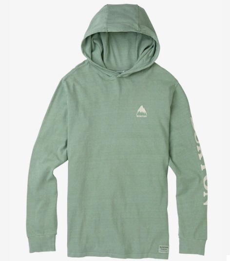 Men's Burton MTN Pullover Hoodie2018SS Lily Pad
