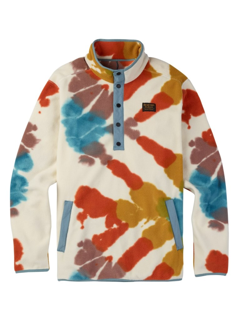 BURTON MB HEARTH FLEECE PULLOVER 2018SS TIE DYE