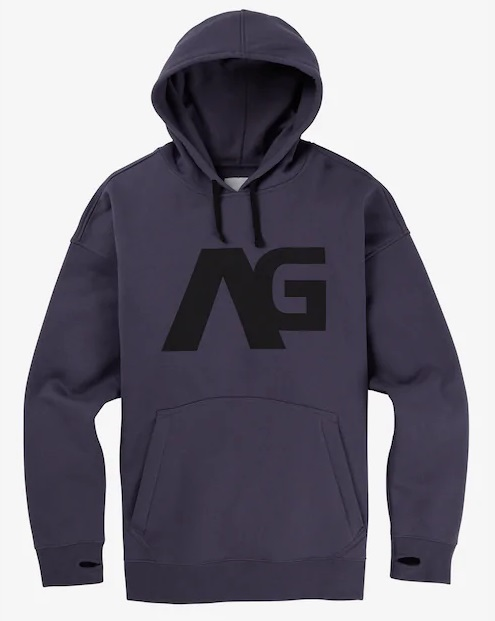 Men's Analog Crux Pullover Hoodie 2019FW Greystone
