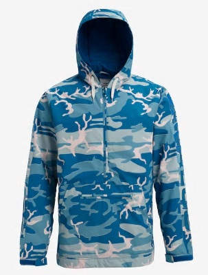 BURTON Men's Analog Chainlink Anorak 2019FW Analog Camo