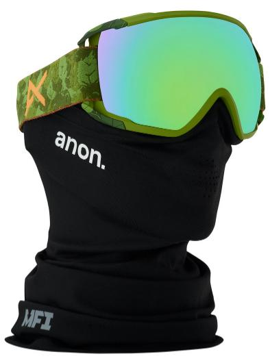 Anon(アノン)Men's Anon Circuit Goggle Mad Tree/SONAR Green by Zeiss 【正規品】【送料無料】【アジアンフィット】【30%OFF】