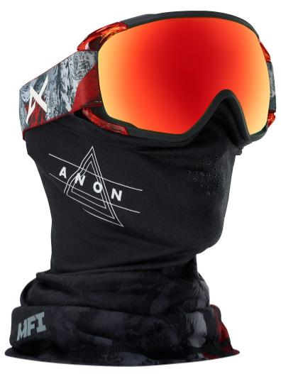 Anon(アノン)Men's Anon Circuit Goggle Red Planet/SONAR Red by Zeiss 【正規品】【送料無料】【アジアンフィット】【30%OFF】