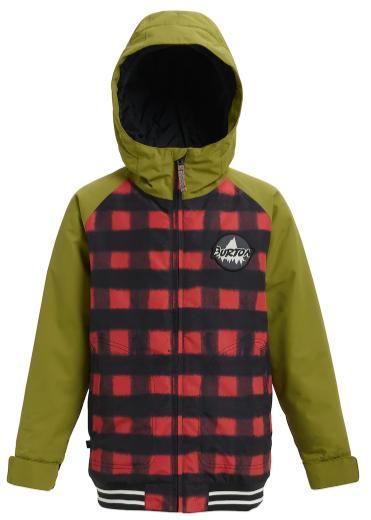 BURTON 子供用 Boys'Gameday Jacket Spray Buffalo / Olive Branch