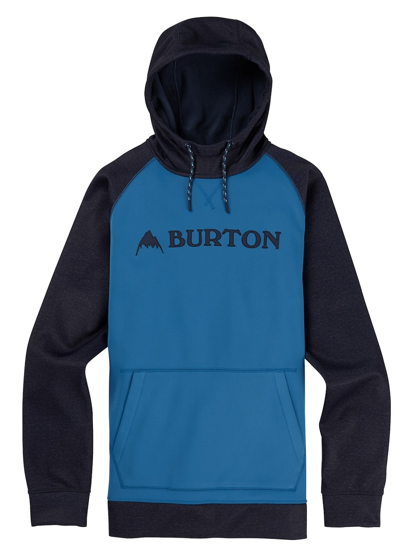 BURTON MB CROWN BNDD PO 2019FW Vallarta Blue / Mood Indigo Heather