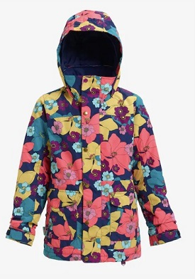 BURTON Girls' Burton Elstar Jacket 2019FWflowers! サイズL