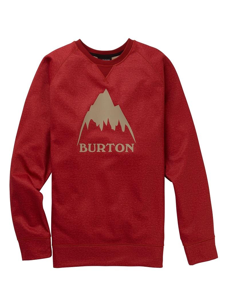 Men's Burton Crown Bonded Crew 2020FW Tandori Heather