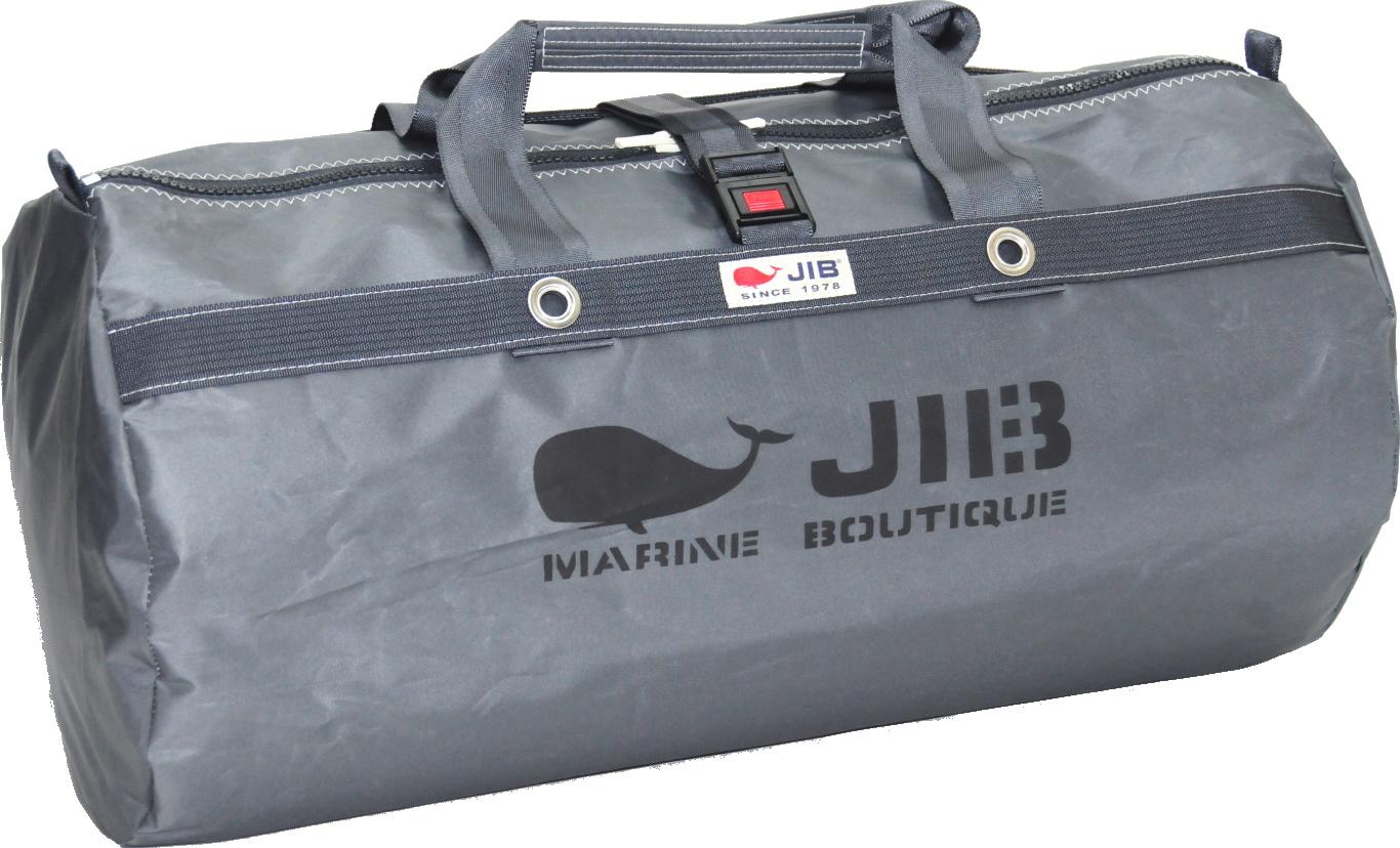 JIB ラージダッフルバッグ DLG210 チャコールグレー67×φ35cm 約64L