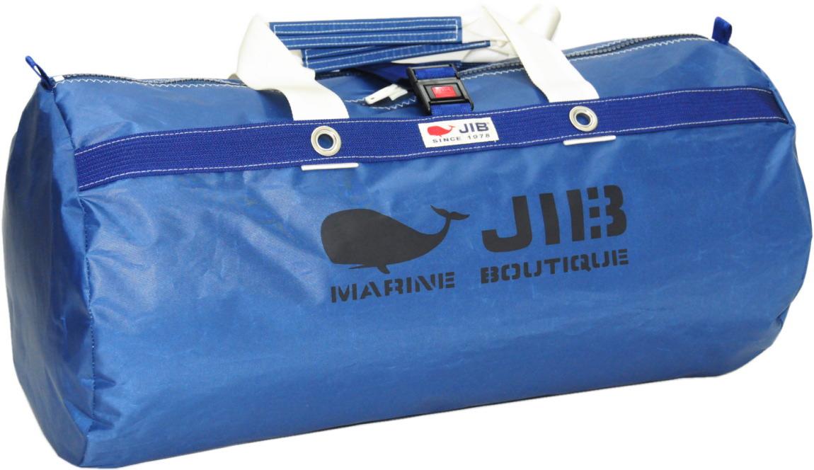 JIB ラージダッフルバッグ DLG210 ネイビー/アイボリーハンドル67×φ35cm 約64L