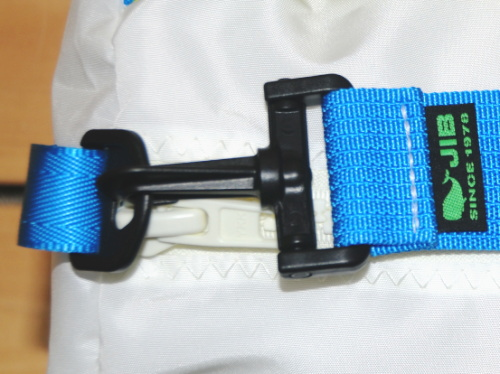 JIB Duffle Bag SS border / plastic parts specification DSSB120 grey * (green) * same day ship
