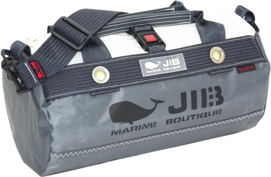 JIB ダッフルバッグSS DSSB146チャコールグレー W32×φ17cm 約7L