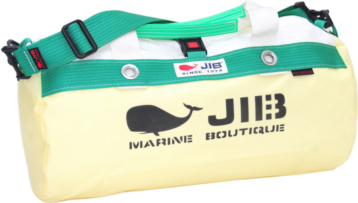 JIB ダッフルバッグS DS130 シトラス×グリーン42×22cm 約15L