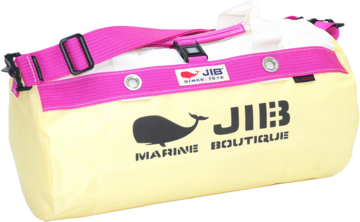 JIB ダッフルバッグS DS130 シトラス×ピンク42×22cm 約15L