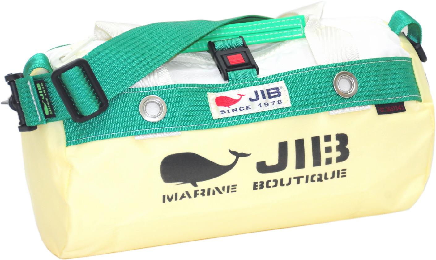 JIB ダッフルバッグSS DSS120 シトラス×グリーン W32×φ17cm 約7L