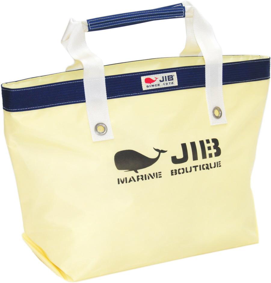 JIB オープントートM TFM125シトラス×ネイビー56.5×35.5×17.5cm 約35L