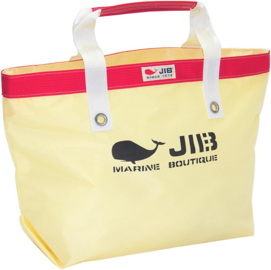 JIB オープントートM TFM125シトラス×レッド56.5×35.5×17.5cm 約35L