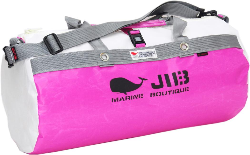 JIB ダッフルバッグM DM170ピンク×グレー 57×φ29cm 約37L
