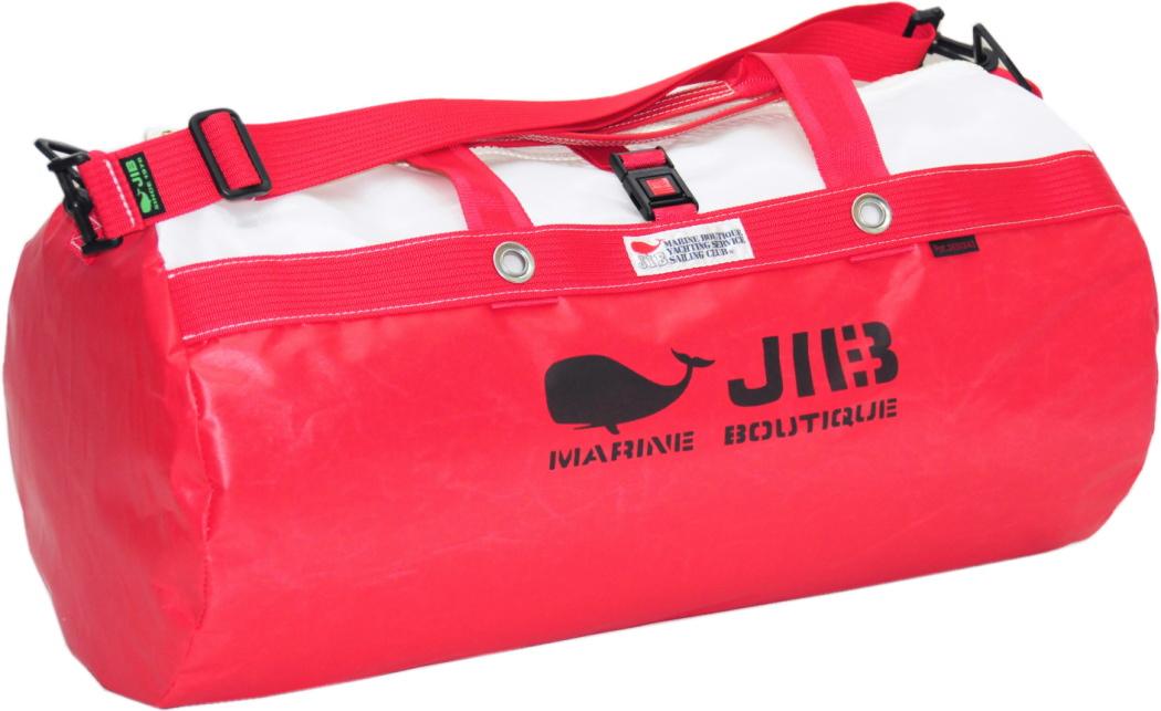 JIB ダッフルバッグM DM170レッド 57×φ29cm 約37L