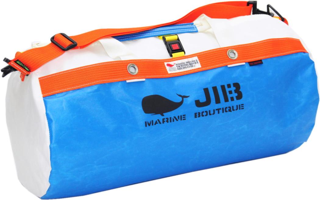 JIB ダッフルバッグM DM170 ロケットブルー×オレンジ 57×φ29cm 約37L